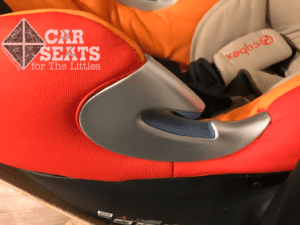 Cybex Aton Q belt guide